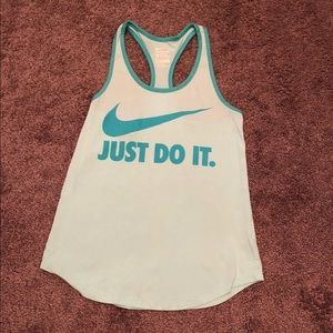 Nike Dri Fit racer back tank small